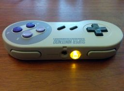 RF modified SNES controller, back.