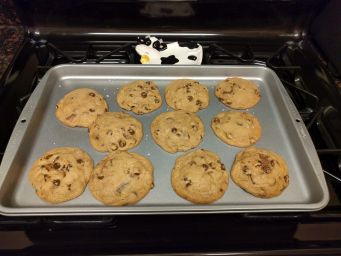 Superlative cookies, post-bake.