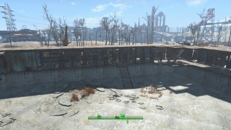 My power armor storage facility.