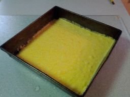 Cornbread, pre-bake. For the stuffing.