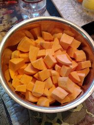 Chopped yams. For http://goo.gl/PnI4z .