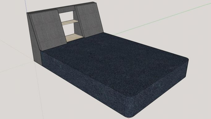 The design for the bed sofa.
