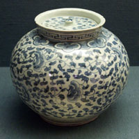 Jar with Lid, Korea, late 19th century.