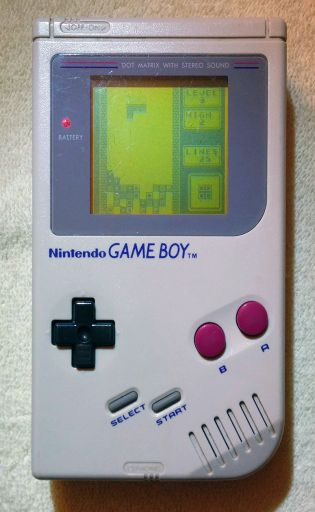 My freshly repaired Game Boy.