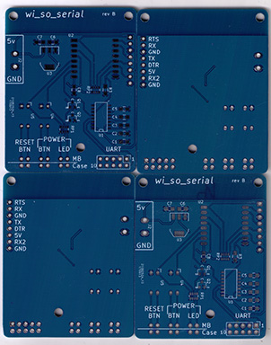 Scan of a board produced by JLCPCB.