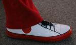 Finally a close up of the shoes, a very nice finishing touch.