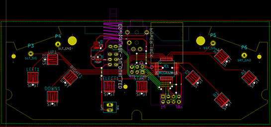 The PCB for my design, so far.