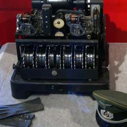The 'Tunny' machine, a less famous cipher machine like Enigma.