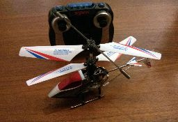 The Syma S800G micro helicopter.