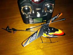 My new toy helicopter, a WLToys v911.